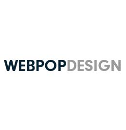 Webpop Design Logo
